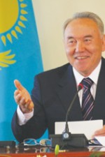 President Nursultan Nazarbayev