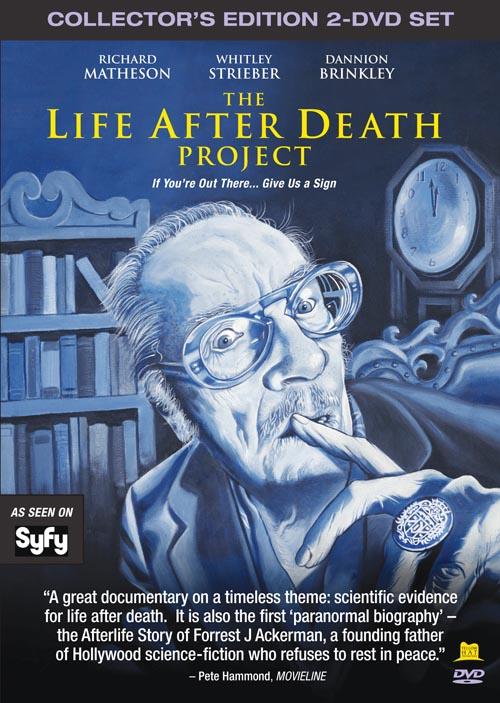LIFE AFTER DEATH PROJECT - DVD COVER