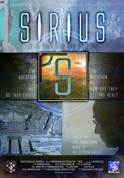 SIRIUS Large Poster Sirius the Film: Disclosure's Next Step?