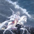 In Hindu mythology, Kalki is the final incarnation of Vishnu, foretold to appear at the end of Kali Yuga, our current epoch. The Puranas foretell that he will be atop a white horse with a drawn blazing sword. He is the harbinger of the end time in Hindu eschatology, after which he will usher in the Satya (Krita) Yuga.