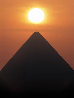 sunset(pyramid)