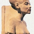 Nefertiti, reportedly 'a princess from a foreign country' became married to Akhenaton.