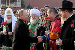 President Putin meets Russia's religious leaders