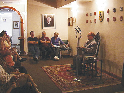 Dr. Stephan Hoeller delivers a lecture at Ecclesia Gnostica, 3363 Glendale Blvd., Los Angeles, CA 90039, United States
