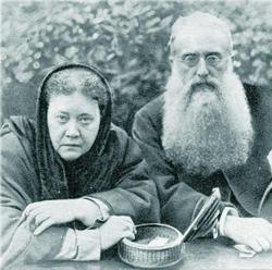 Helena Petrovna Blavatsky & Henry Steel Olcott