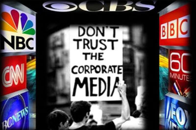 Orwell's guide to the corporate main stream media